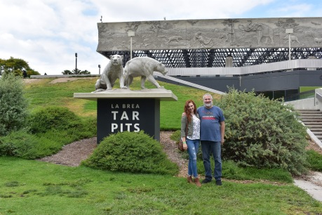 Seeing the tar pits was something Dad has always wanted to do. It was so fun!