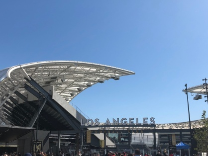 Banc of California Stadium is gorgeous!