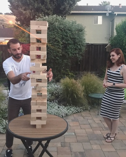 We might have taken this game of Jenga too seriously.