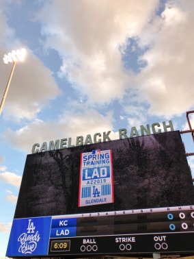 We couldn't have asked for better weather this year at Camelback Ranch!