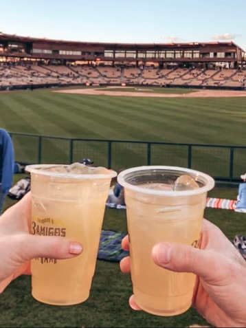 Cheers to another successful Spring Training trip!