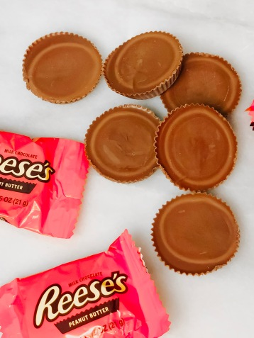 Reese's Peanut Butter Cups are my weakness!