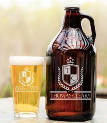 Personalized Beer Growler ($23) - https://www.etsy.com/listing/653687205/personalized-beer-growler-engraved-glass?ga_order=most_relevant&ga_search_type=all&ga_view_type=gallery&ga_search_query=beer+growler&ref=sr_gallery-1-10