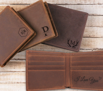 Personalized Wallet ($28-$33) - https://www.etsy.com/listing/661082649/personalized-wallet-for-men-leather?ga_order=most_relevant&ga_search_type=all&ga_view_type=gallery&ga_search_query=monogrammed+wallet+men&ref=sr_gallery-1-3&bes=1