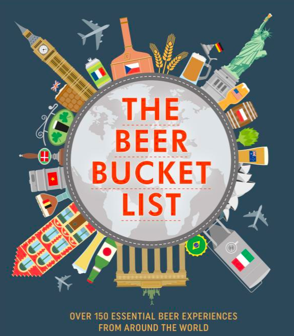 The Beer Bucket List Book ($16) - https://www.amazon.com/Beer-Bucket-List-essential-experiences/dp/1911026275/ref=as_li_ss_tl?ie=UTF8&linkCode=ll1&tag=bookmarksandb-20&linkId=d248d8cfad79f4a3e313a7c4c222657e&language=en_US