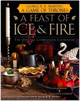 A Feast of Ice and Fire Cookbook ($21) - https://www.amazon.com/Feast-Ice-Fire-Official-Companion/dp/0345534492/ref=as_li_ss_tl?ie=UTF8&linkCode=ll1&tag=bookmarksandb-20&linkId=0dfad16bb8f67b2a6a5a3b2474bb043f&language=en_US