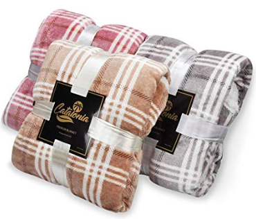 Plaid Sherpa Throw Blanket - We bought one for Chris' grandma and I was so tempted to get one for myself. These are unbelievably soft and cozy! ($23) - https://www.amazon.com/gp/product/B07K8M51XF/ref=as_li_ss_tl?ie=UTF8&psc=1&linkCode=ll1&tag=bookmarksandb-20&linkId=1b93a058e3ac8c9068af70598b569f28&language=en_US
