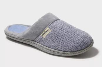 Dearfoam Chenille Slide Slippers ($18) - https://www.target.com/p/women-s-dearfoams-chenille-scuff-slide-slippers/-/A-54574509?preselect=54565109#lnk=sametab