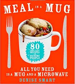 Meal in a Mug Cookbook ($16) - https://www.amazon.com/Meal-Mug-Recipes-People_All-Microwave/dp/1476798141/ref=as_li_ss_tl?ie=UTF8&linkCode=ll1&tag=bookmarksandb-20&linkId=44e37da380ad022370b75928d5f11267&language=en_US