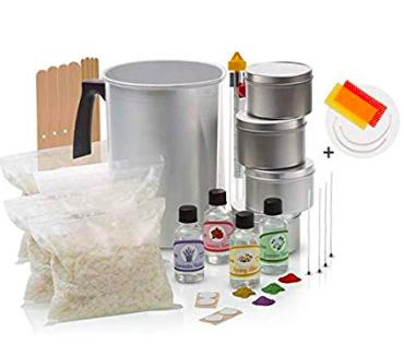 Soy Candle Making Kit ($33) - https://www.amazon.com/Momila-Complete-Supplies-All-Natural-Fragrances/dp/B07KB6SCQL/ref=as_li_ss_tl?s=arts-crafts&ie=UTF8&qid=1574229150&sr=1-13&linkCode=ll1&tag=bookmarksandb-20&linkId=ef86bbee264b0caff15549a78e514658&language=en_US