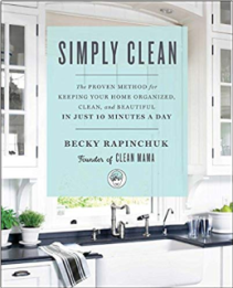 Simply Clean ($14) - https://www.amazon.com/Simply-Clean-Keeping-Organized-Beautiful/dp/1501158791/ref=as_li_ss_tl?crid=S8DNUKSOA6CR&keywords=home+schedule+chart&qid=1574281784&s=books&sprefix=home+schedule,stripbooks,186&sr=1-3&linkCode=ll1&tag=bookmarksandb-20&linkId=d976c7483f122f3a6a60adecae16c18d&language=en_US