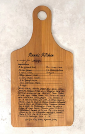 Personalized Cutting Board (starts at $28) - https://www.etsy.com/listing/686366111/personalized-cutting-board-handwriting?ga_order=most_relevant&ga_search_type=all&ga_view_type=gallery&ga_search_query=recipe+cutting+board&ref=sr_gallery-1-2&frs=1&bes=1
