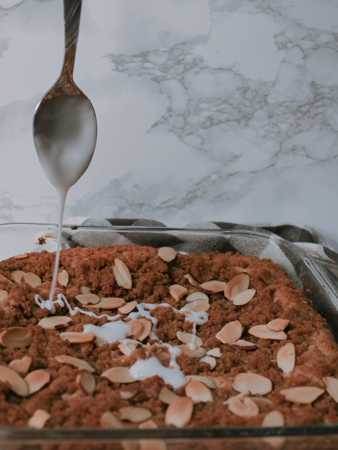 Almond Cranberry Coffee Cake