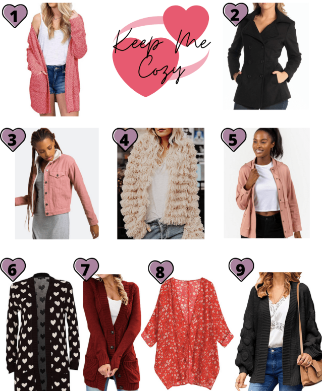 Valentine's Day Outerwear