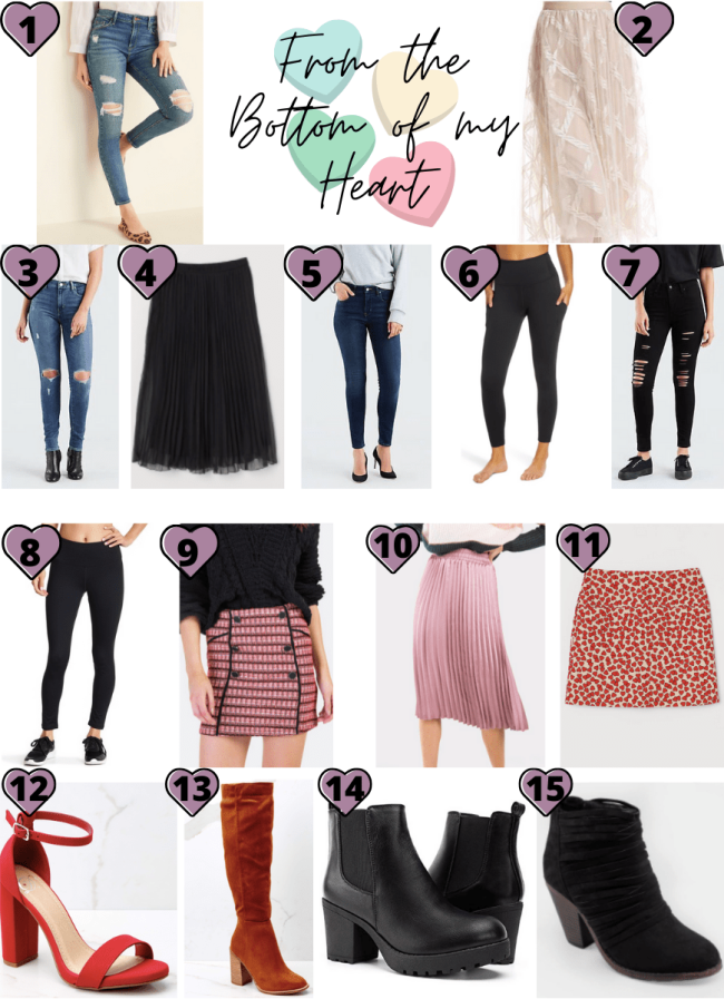 Valentine's Day Skirts and Pants