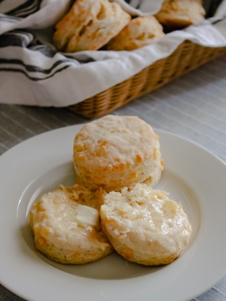 The best, easiest cheesiest biscuits.